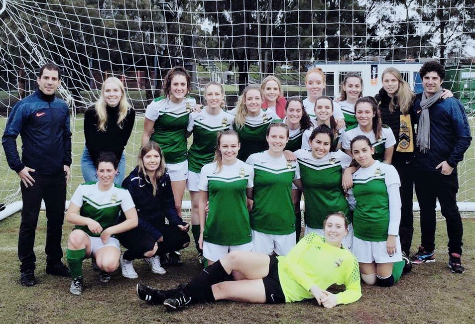 OTG Soccer women's team