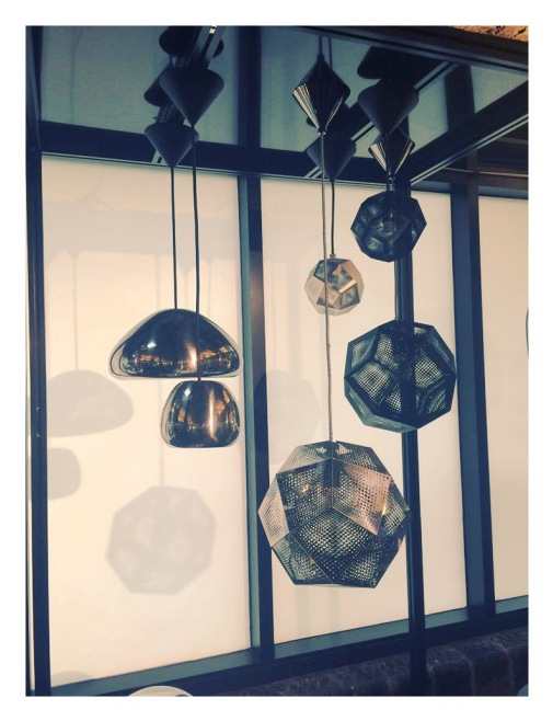 Tom Dixon London showroom.