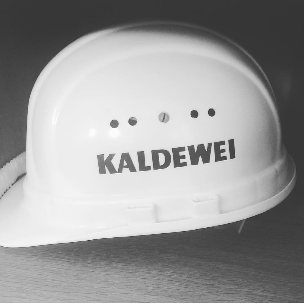 Safety first @ the Kaldewei factory tour in Ahlen.