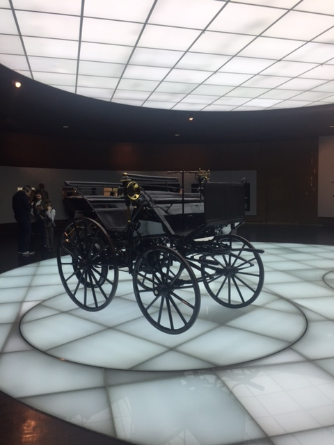 Mercedes-Benz museum tour.