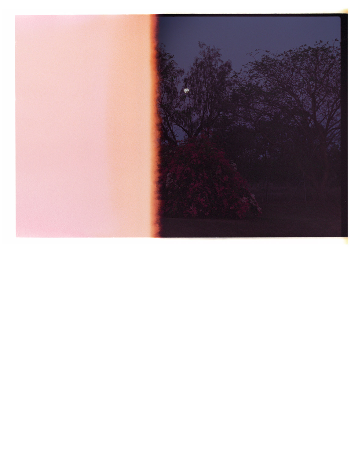 Away with it all [by dawn] 2010 (2013). Archival Inkjet Print on Hahnemühle Photo Rag. 48 x 33cm. Edition of 5 + 2AP.