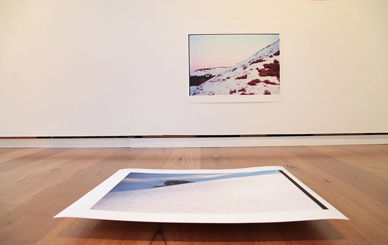 Snow Pile. Installation View. Beam Contemporary. 2013.