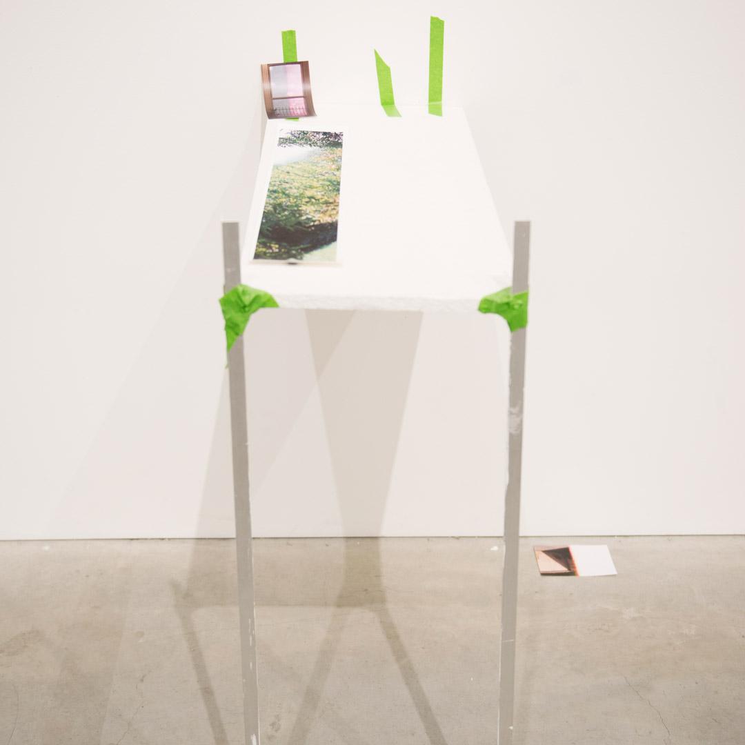 Concrete Post [Shelf] Design Hub, RMIT University 2014