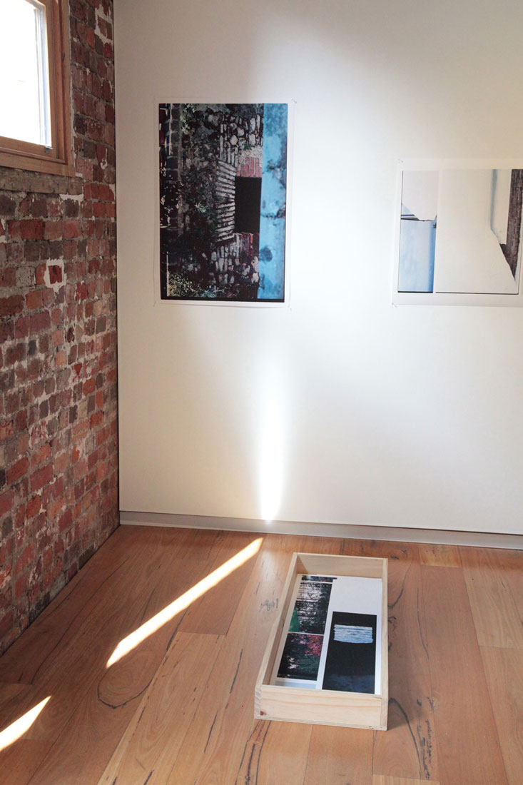 Fragments of Snow and Times Before. Installation View. Beam Contemporary.