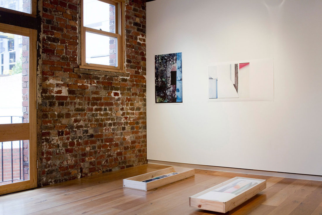 Fragments of Snow. Installation View. Beam Contemporary.