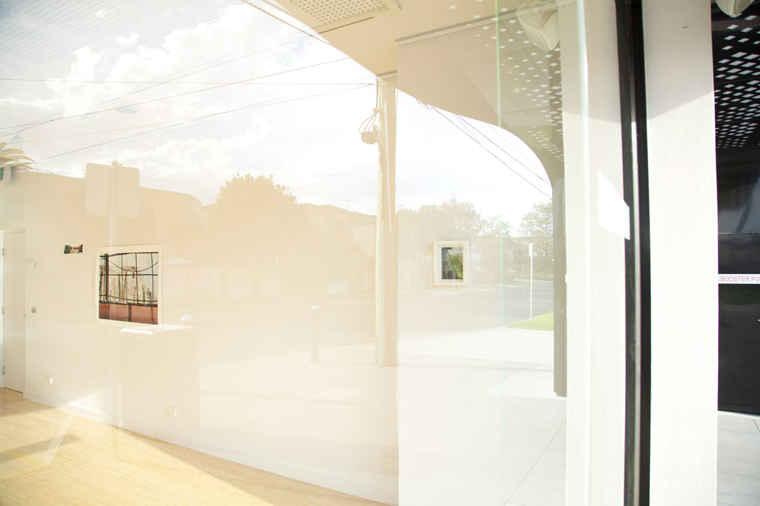 Certain Geometries. 2013. Installation View. G3 ArtSpace. City of Kingston Arts.
