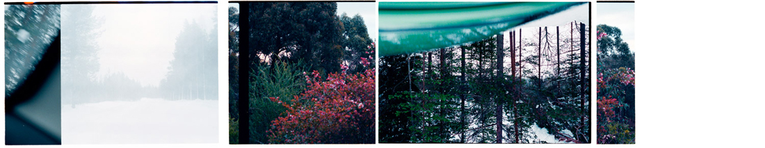 Prior to Departure [Left in Longing], 2012. Archival Inkjet Print on Hahnemühle Photo Rag. 180 x 38cm. Edition of 5 + 2 Ap.