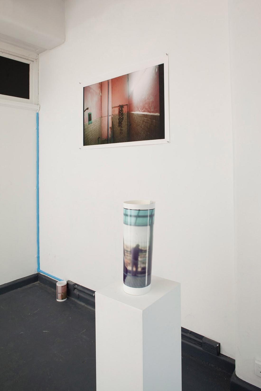 Some Sort of Split. 2011. Installation View. Blindside.