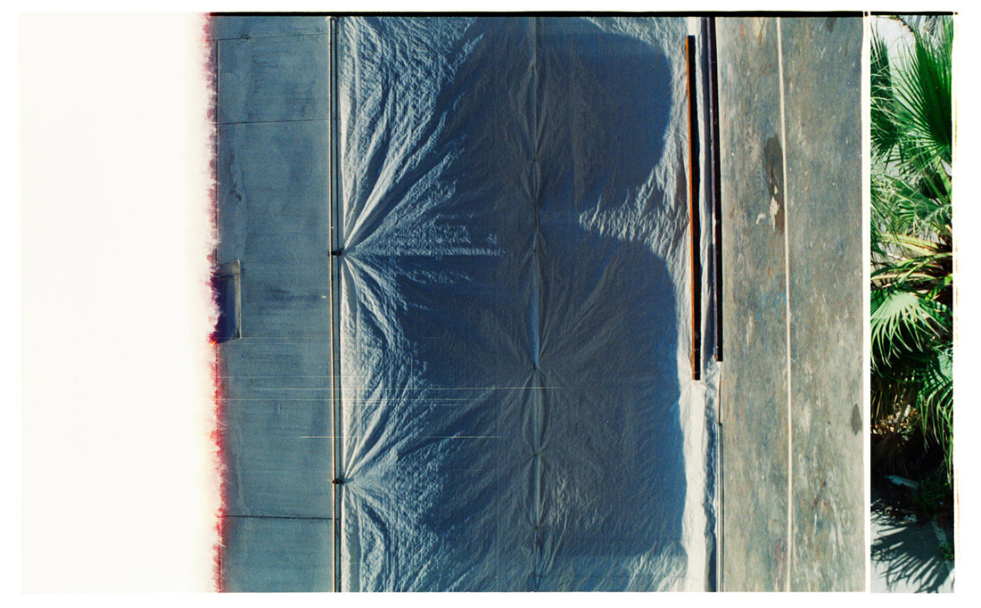 Coloured Cut/Barcelona [Blue]. 2015. Archival Inkjet Print on Hahnemühle Photo Rag. 80x50cm. Edition of 5 + 2 AP.