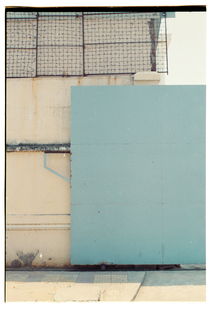 The Gesture of Geometry [Light shades of blue]. 2015. Archival Inkjet Print on Hahnemühle Photo Rag. 47 x 67cm. Edition of 5 + 2 AP.