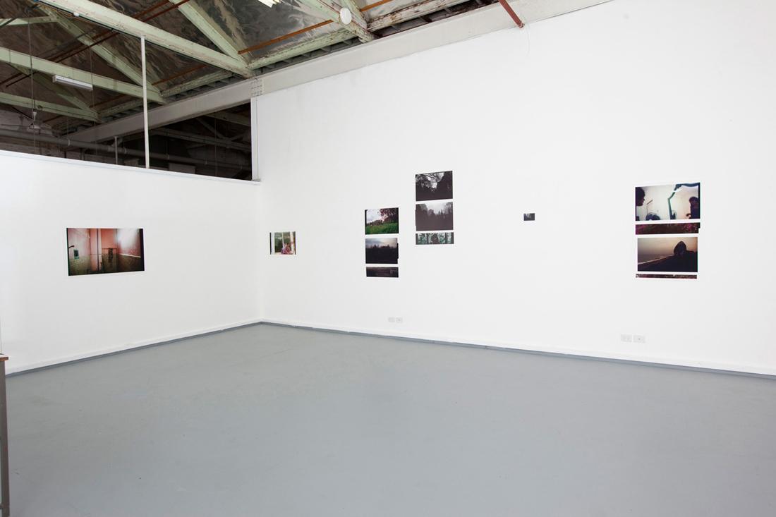 It's Over [The Horizon]. 2010. Installation View. Gossard Space, RMIT University.