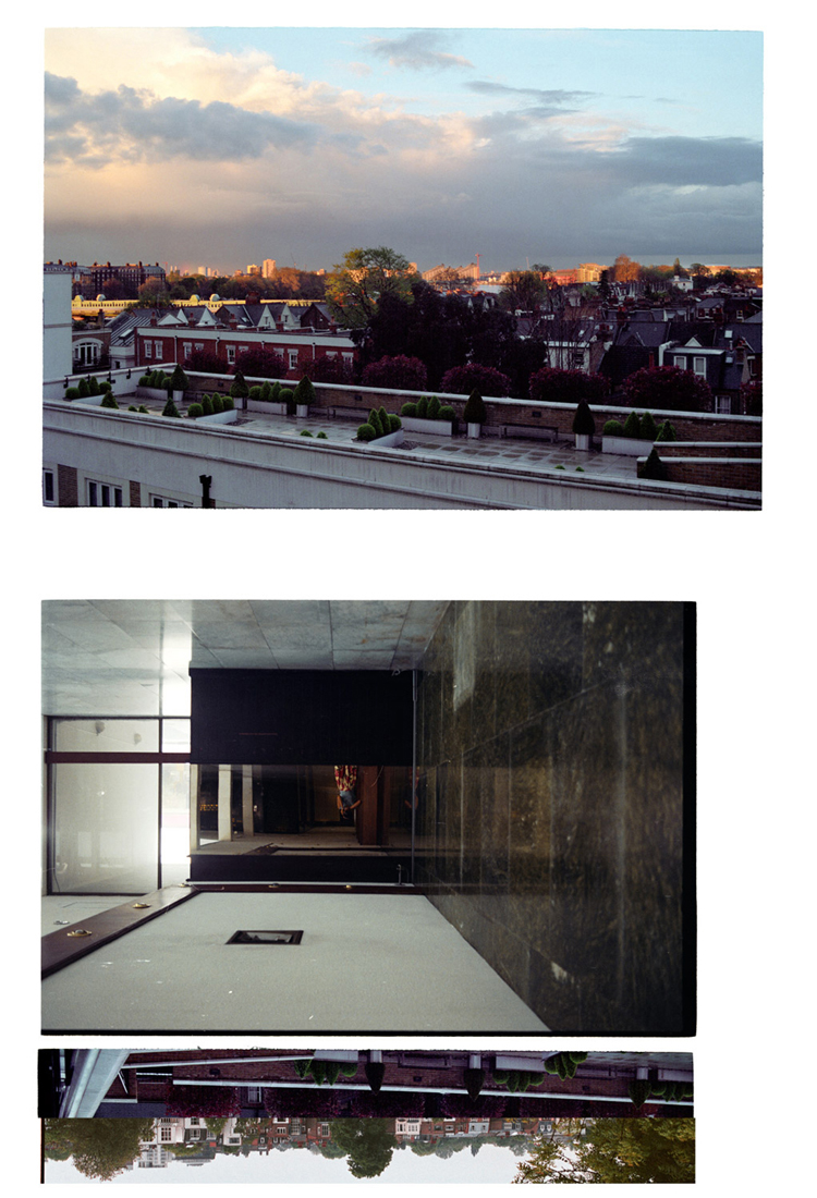 [It's Over] An English Skyline. 2008-2010. Archival Inkjet Print on Hahnemühle Photo Rag. 112x70cm. Edition of 5 + 2 Ap.