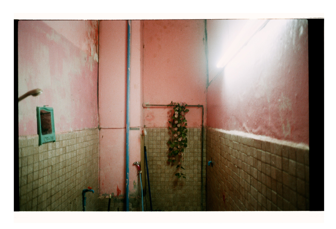 An Interruption [pink walls enclosed around me] 2007 [2010]. Archival Inkjet Print on Hahnemühle Photo Rag. 90x61.38cm. Edition of 5 + 2 Ap.