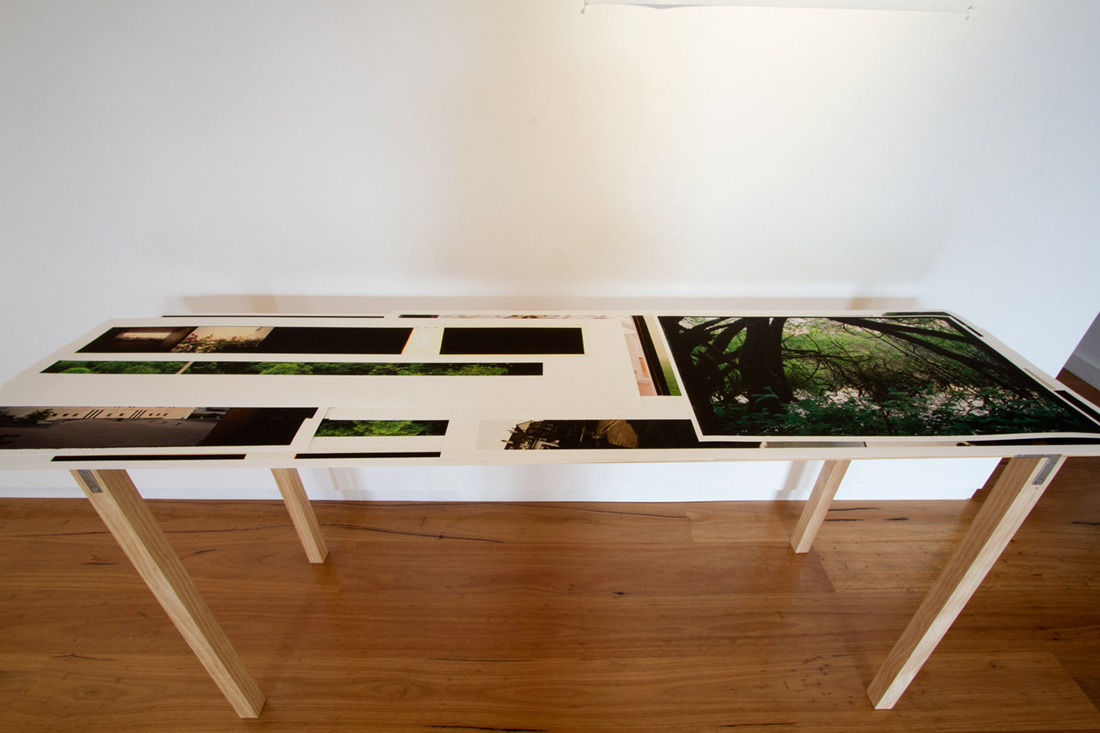 Cataloguing the Composite. 2011. Installation View Detail. Beam Contemporary.