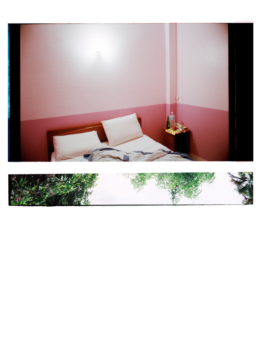2.3 To Have Felt the Fold, [Pink Walls/Blue Sheets]. 2006-2011. Archival Inkjet Print on Hahnemühle Photo Rag. 82 x 112cm. Edition of 5 + 2 AP.