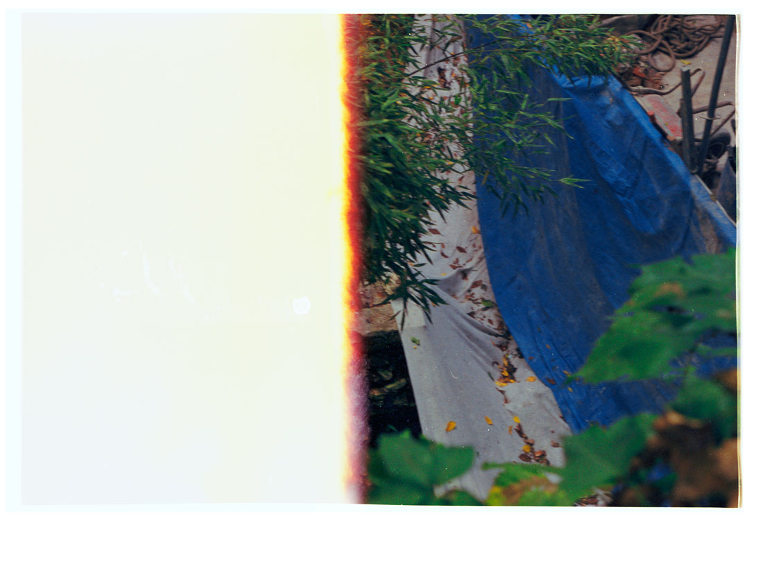 Blue, Concealed The Garden, 2016 [2015]. Archival Inkjet Print on Hahnemühle Photo Rag. 22x16.45cm. Edition of 5 + 2 Ap.