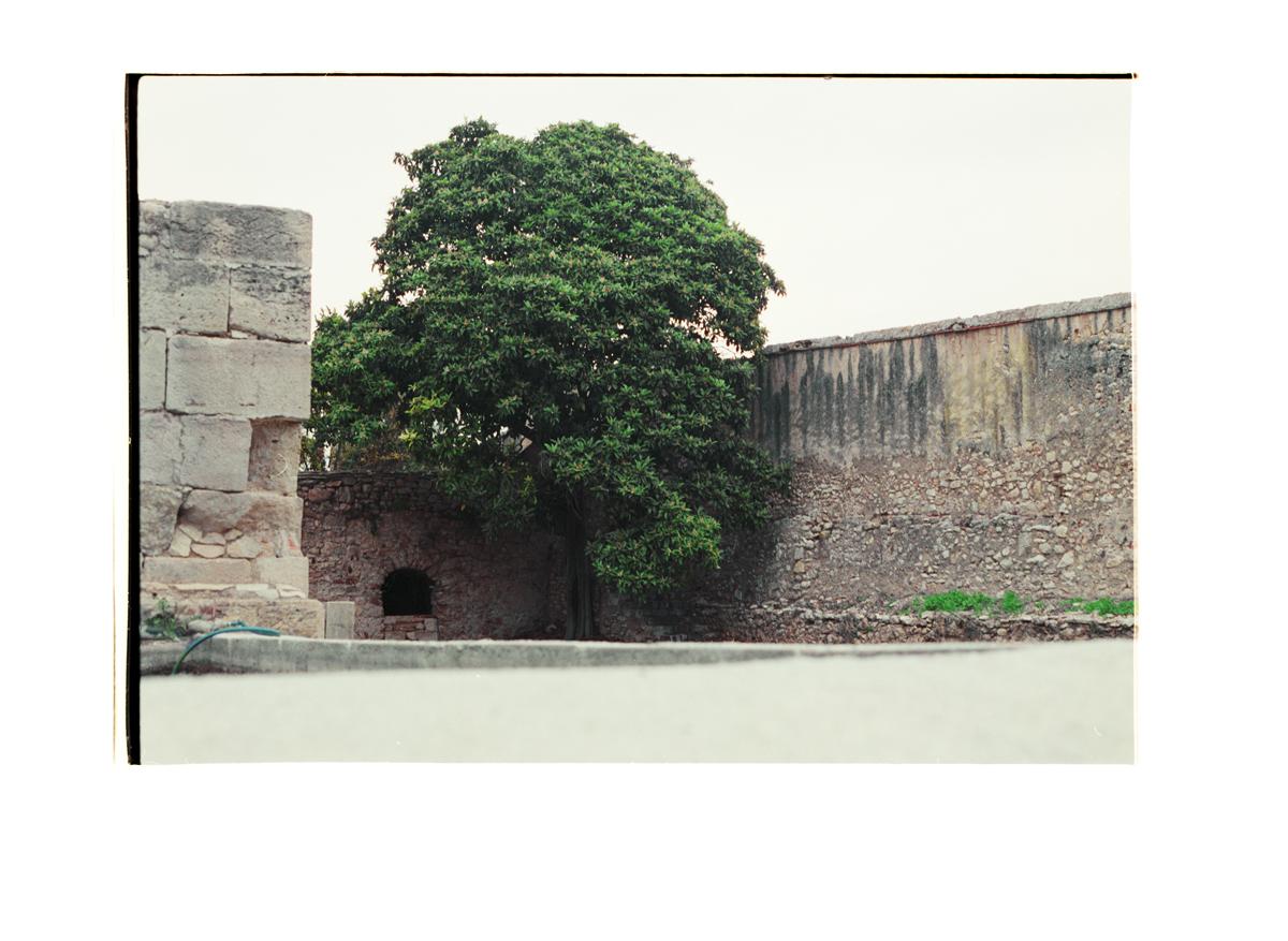 At the End of the Garden [Monestir de Poblet), 2016 (2015). Archival Inkjet Print on Hahnemühle Photo Rag. 53x37cm. Edition of 5 + 2 Ap.