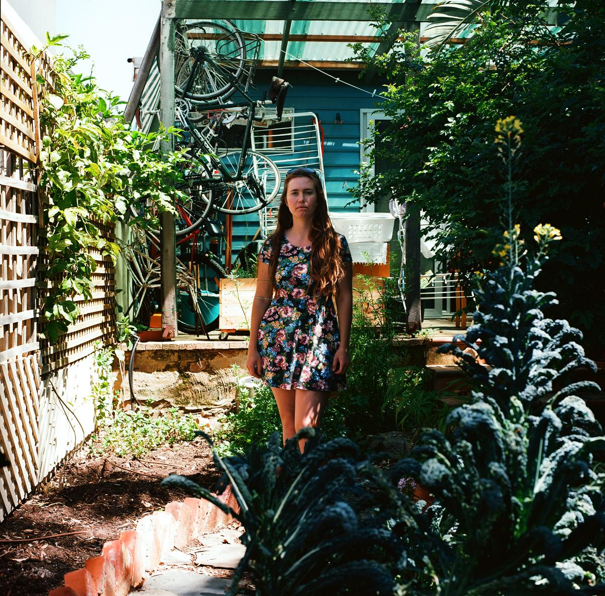 Gardener Archive. 2016. Karina in her garden in Fremantle, Perth, Australia