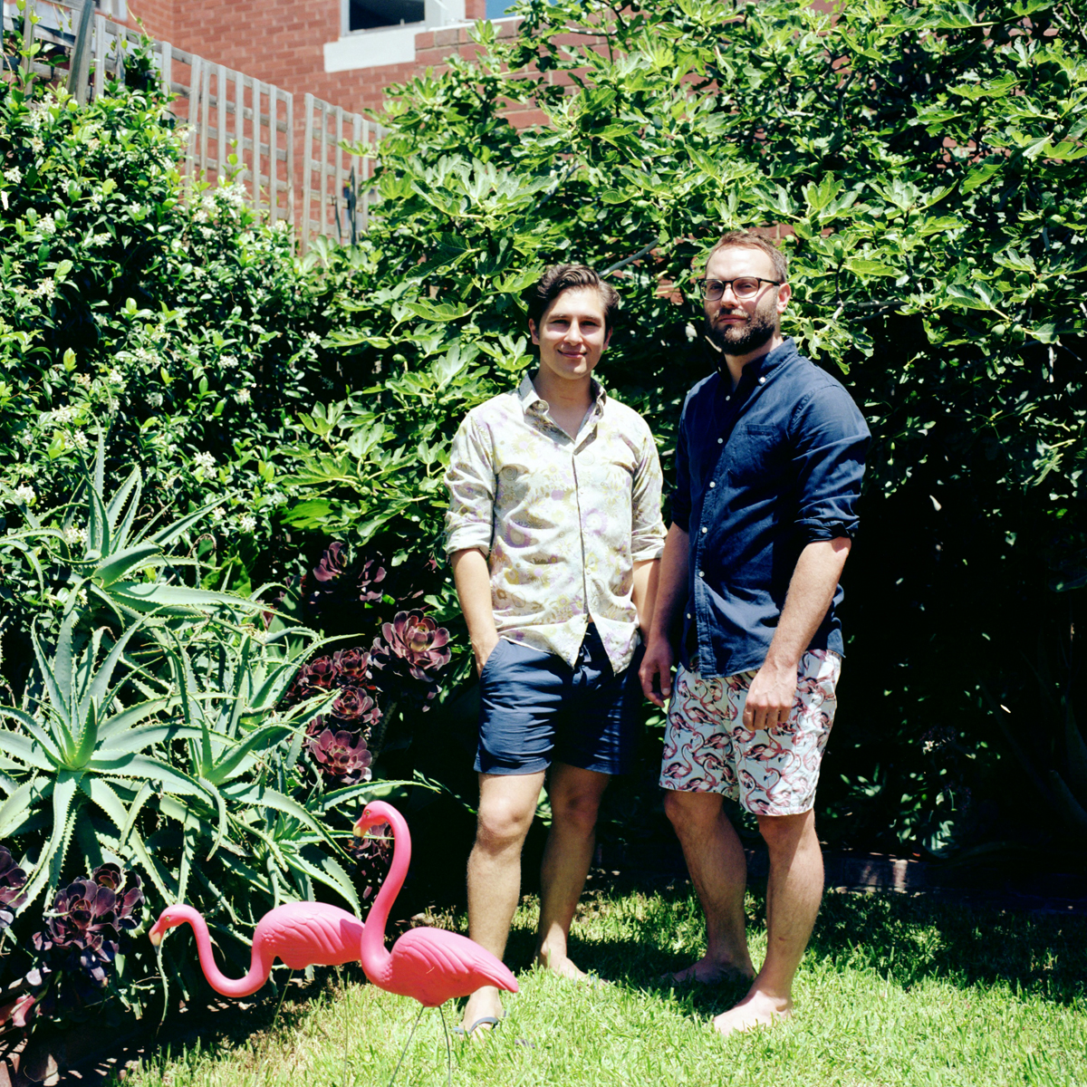 Gardener Archive. 2017. Tom and Edward, in their garden in Princess Hill, Melbourne, Australia