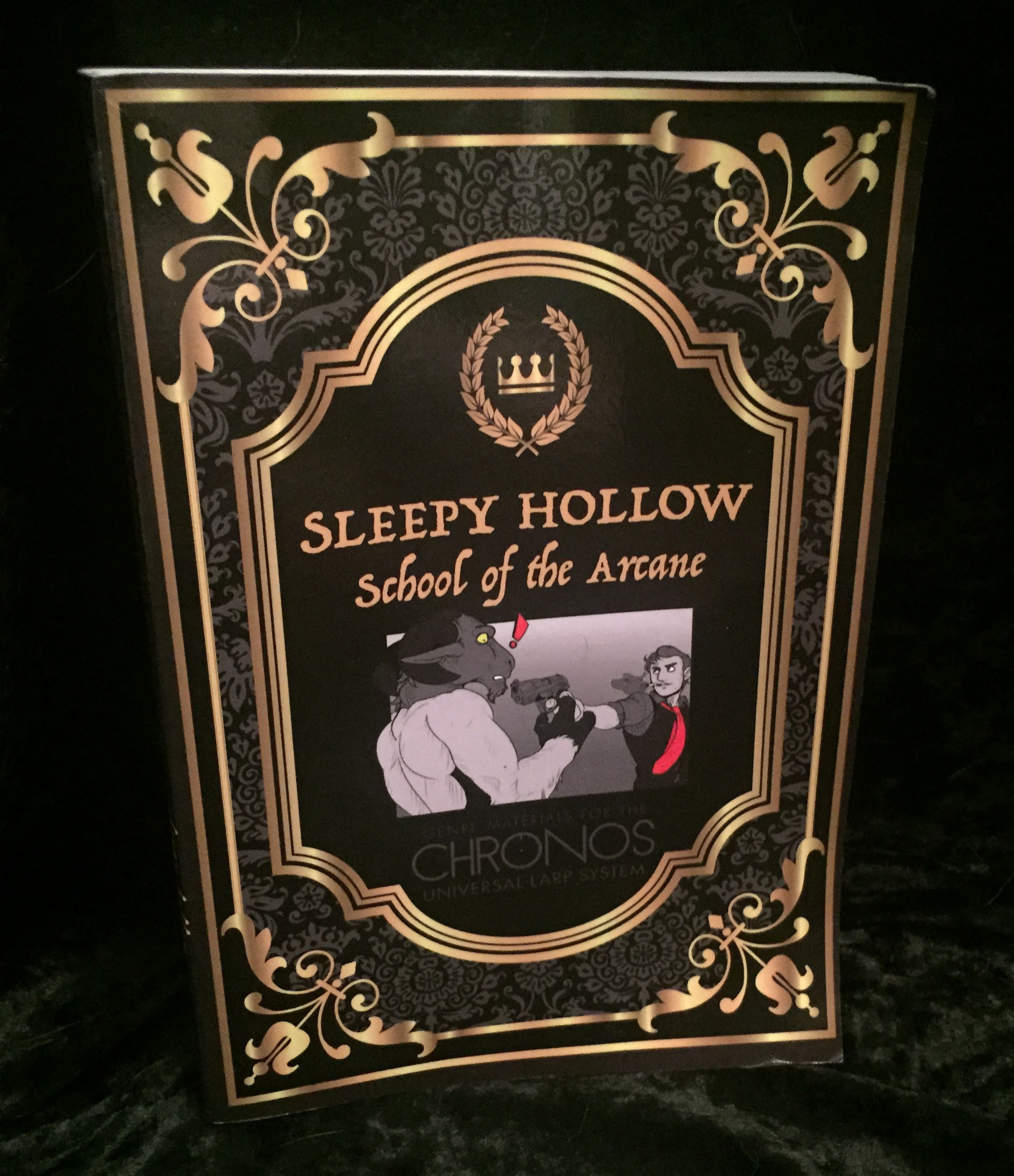 Sleepy Hollow: School of the Arcane Front Cover