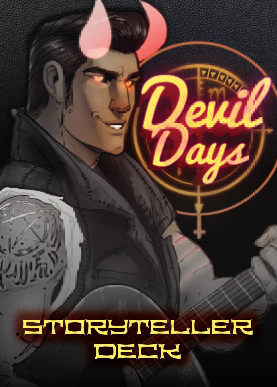 Devil Days Card Back:Storyteller Variant