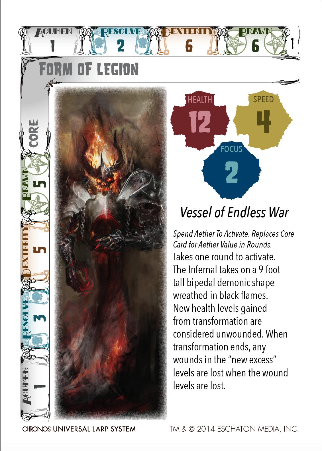 Devil Days Core Card