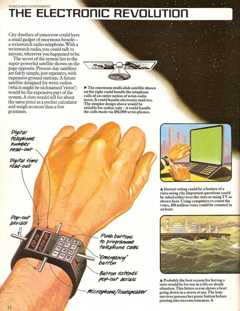 1970s, (ou 1960s) iPhones!