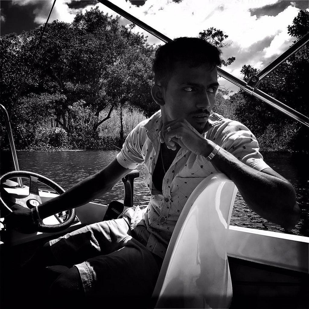 #Hipstamatic #JohnS #Aristotle #ceylon #srilanka #colombo #fishery #sunday #fishing #blackandwhite #portrait