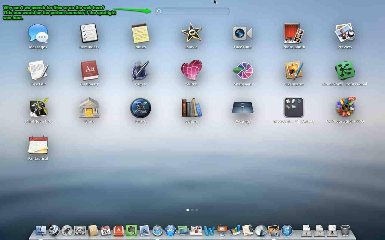 Uma sugestão para o OS X 10.9