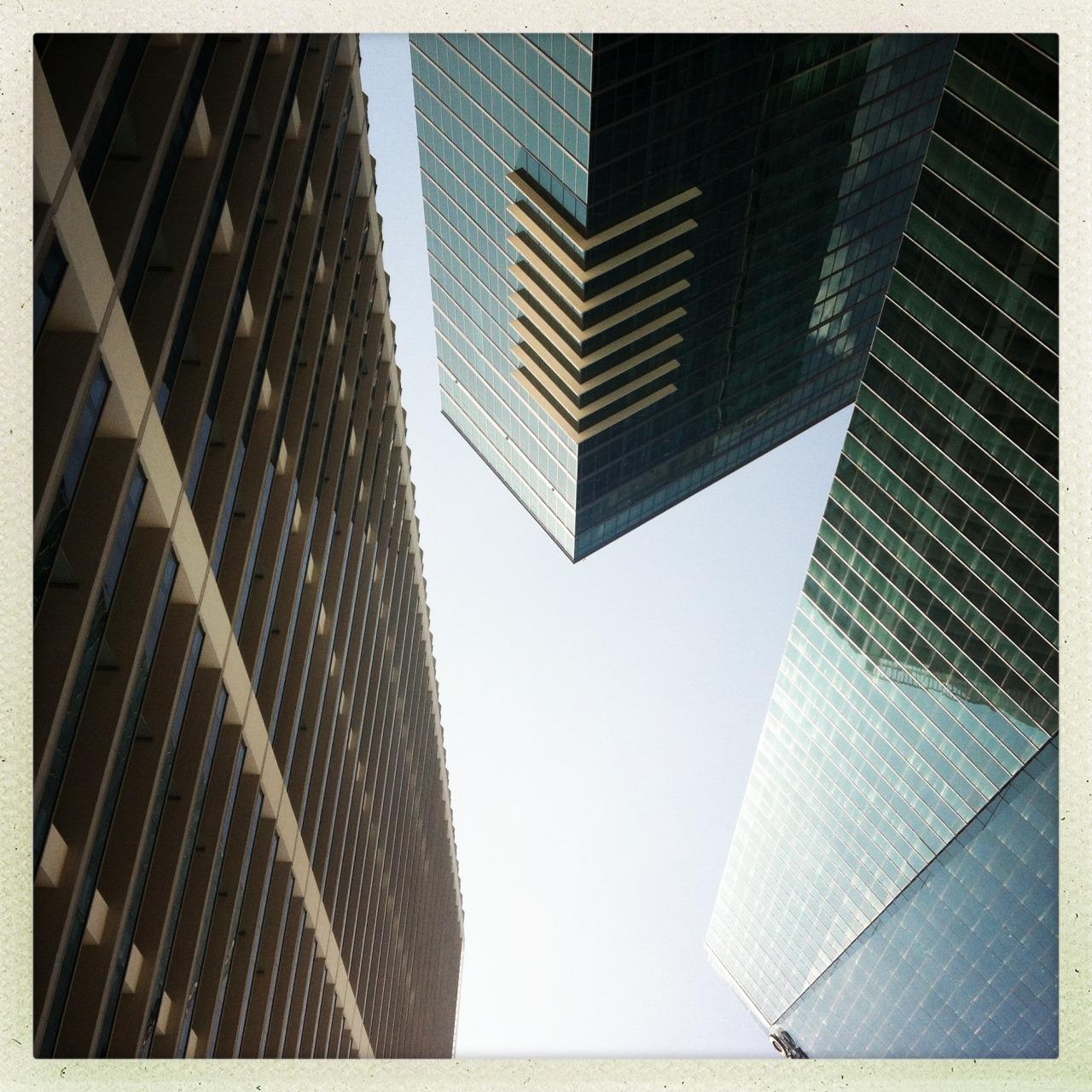 Quadriláteros #miami #downtown #buildings
