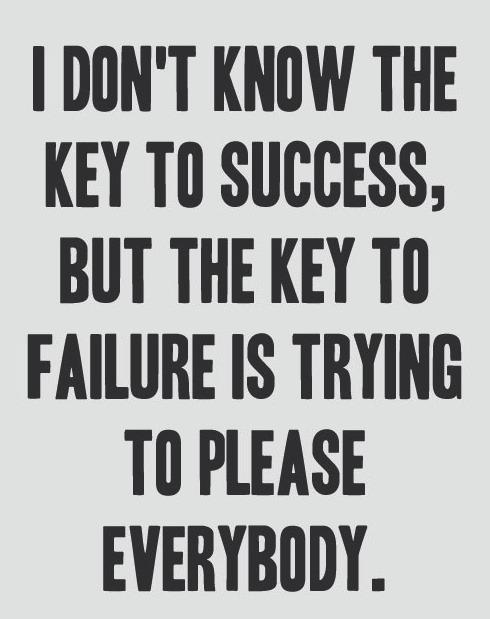nevver :      The Key to Failure