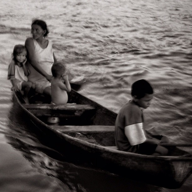 Família paraense #para #amazonia #blackandwhite #bw