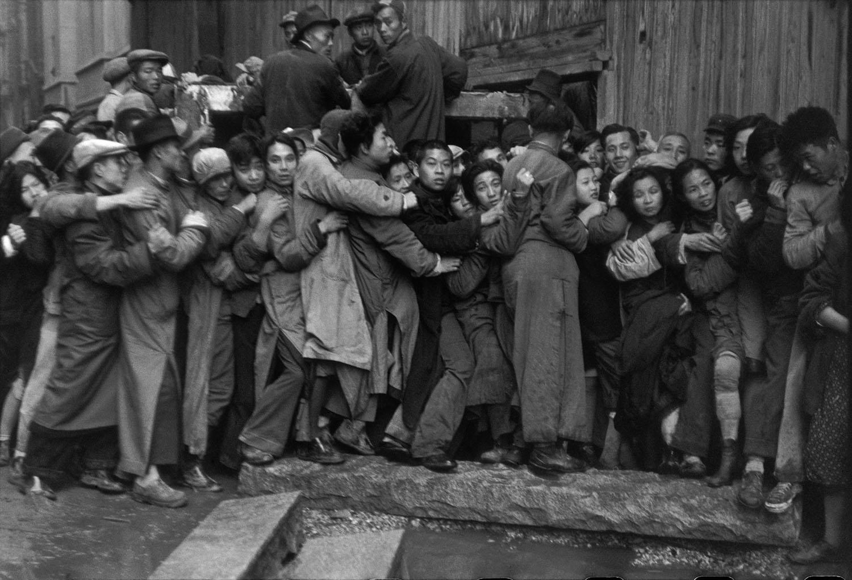 Henri Cartier-Bresson,  Shanghai , 1948. © Henri Cartier-Bresson / Magnum Photos