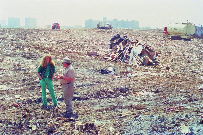 Mierle Laderman Ukeles, Touch Sanitation Performance, 1979-1980