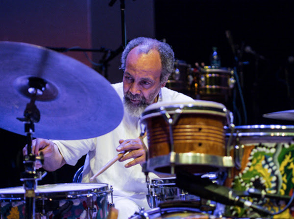 Milford Graves with William Parker and Shahzad Ismaily