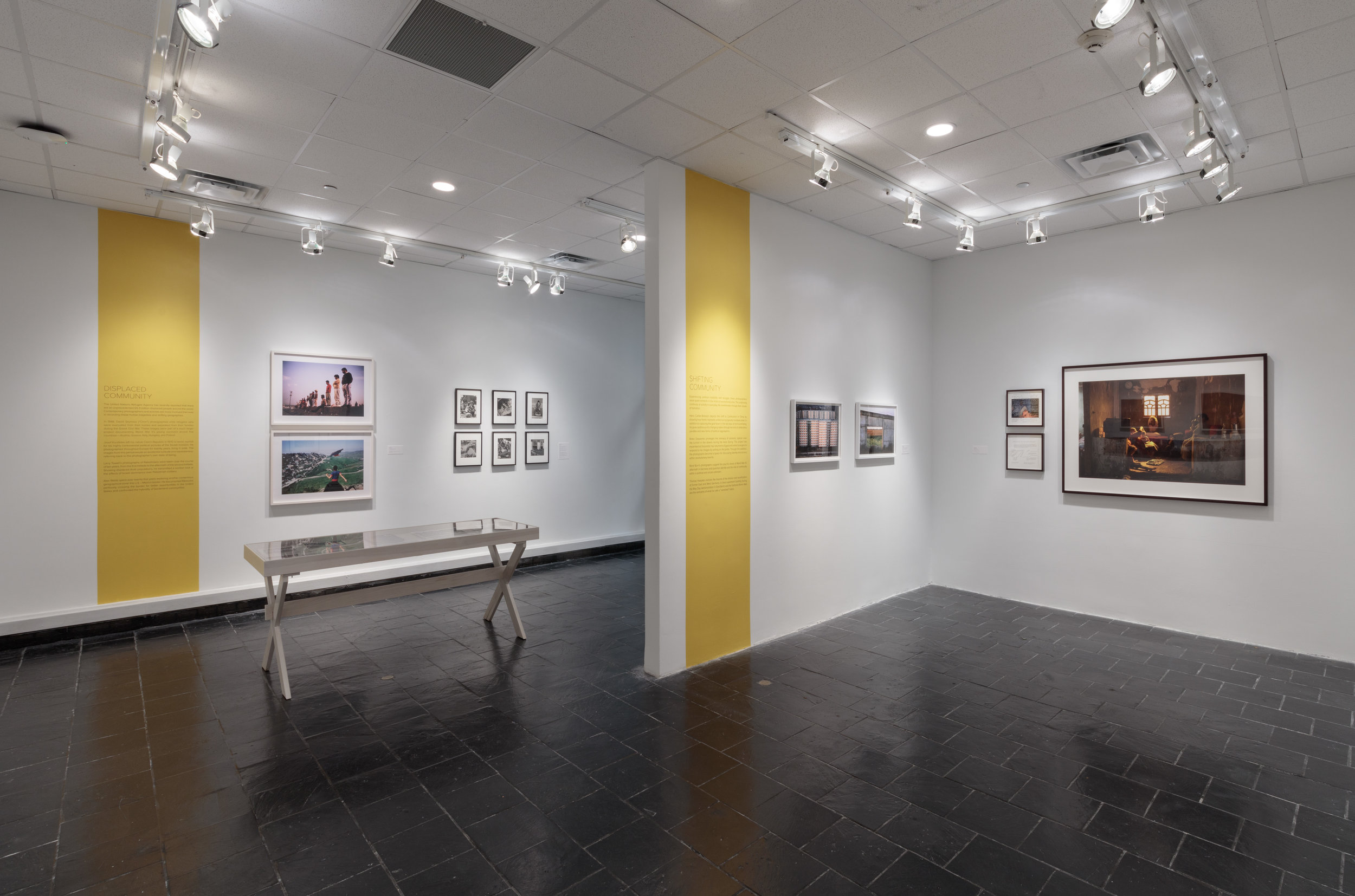 Installation view: Framing Community: Magnum Photos, 1947–Present, Hunter College Art Galleries, 2017. Photo by Stan Narten.