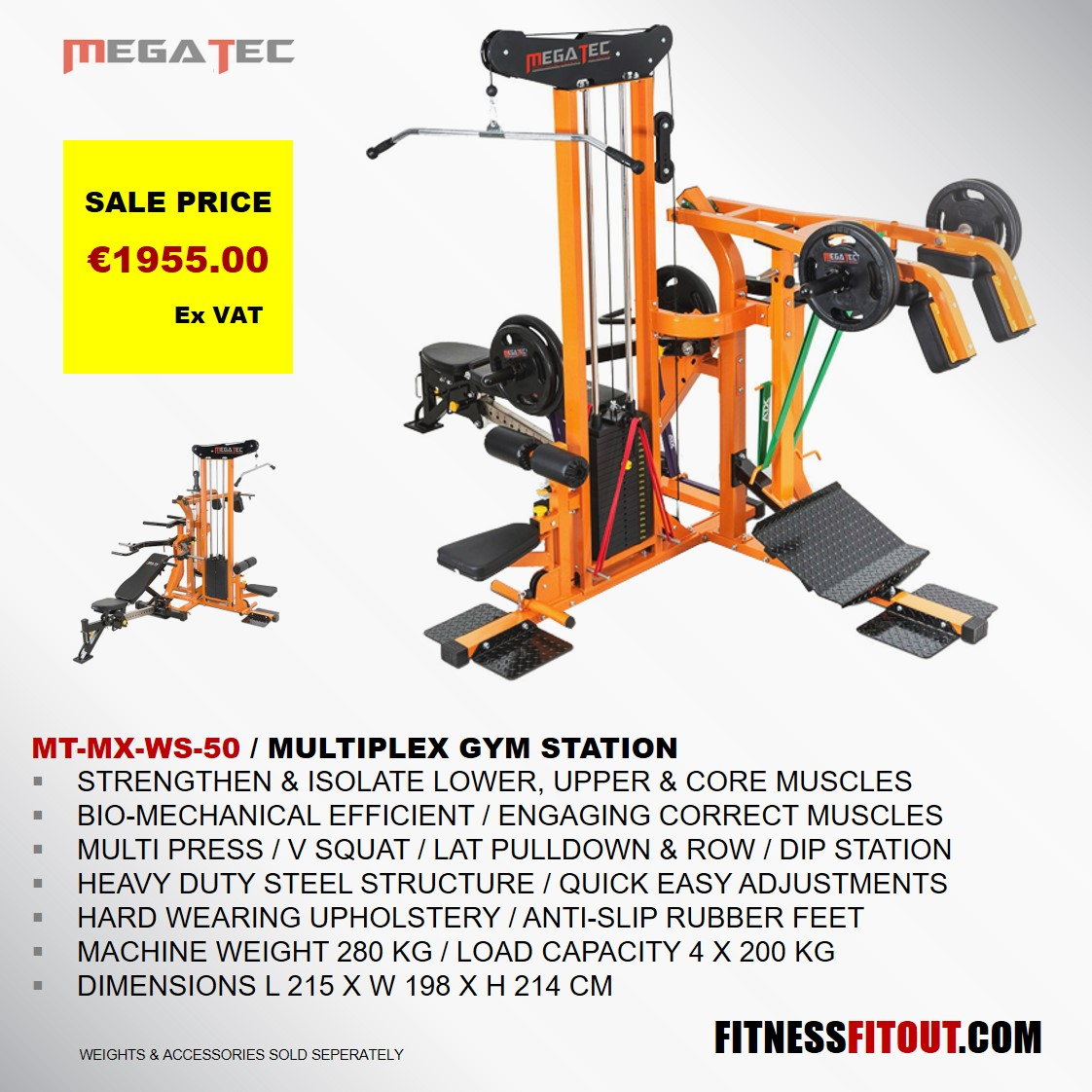 MEGATEC  MULTIPLEX GYM STATION