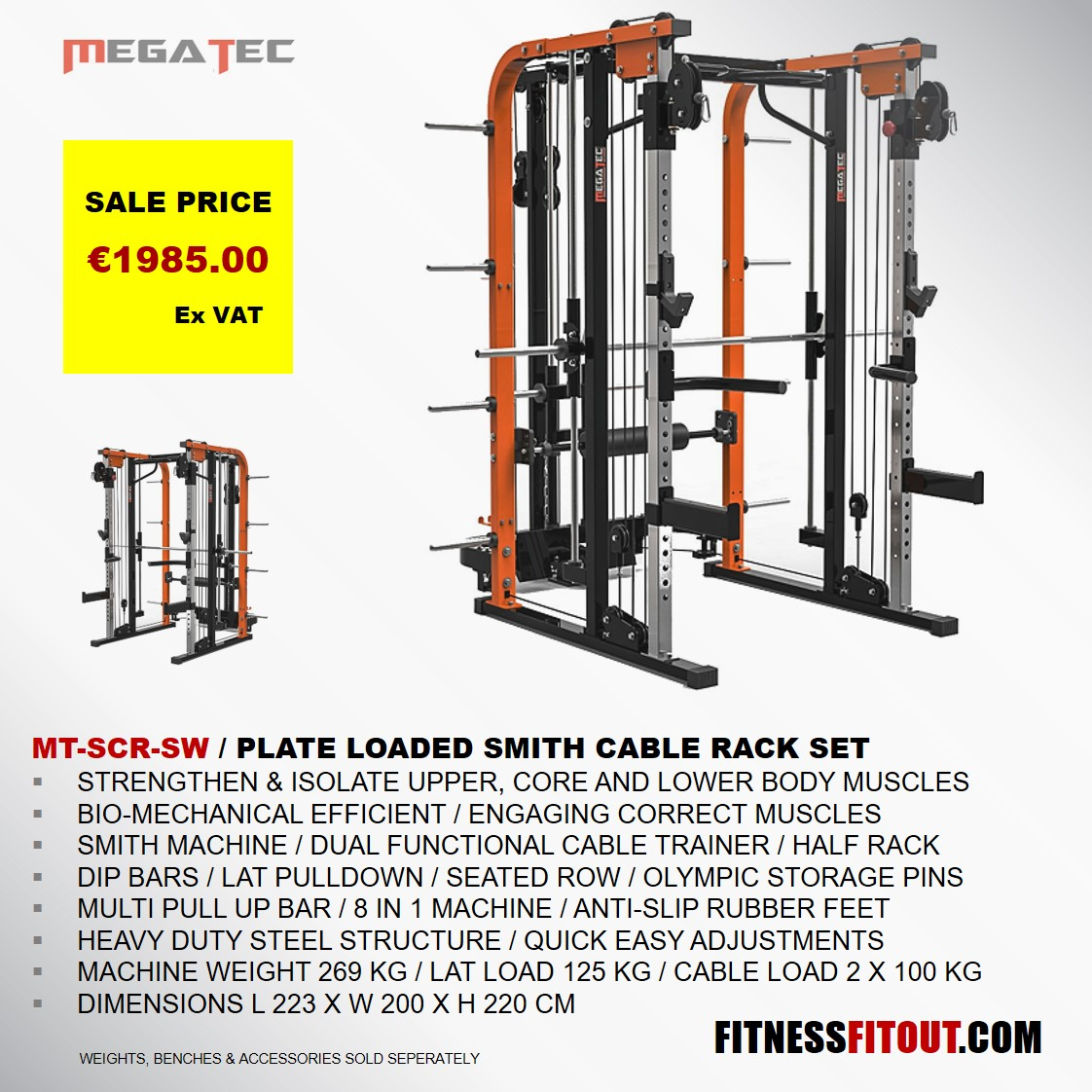 MEGATEC  SMITH CABLE RACK SET