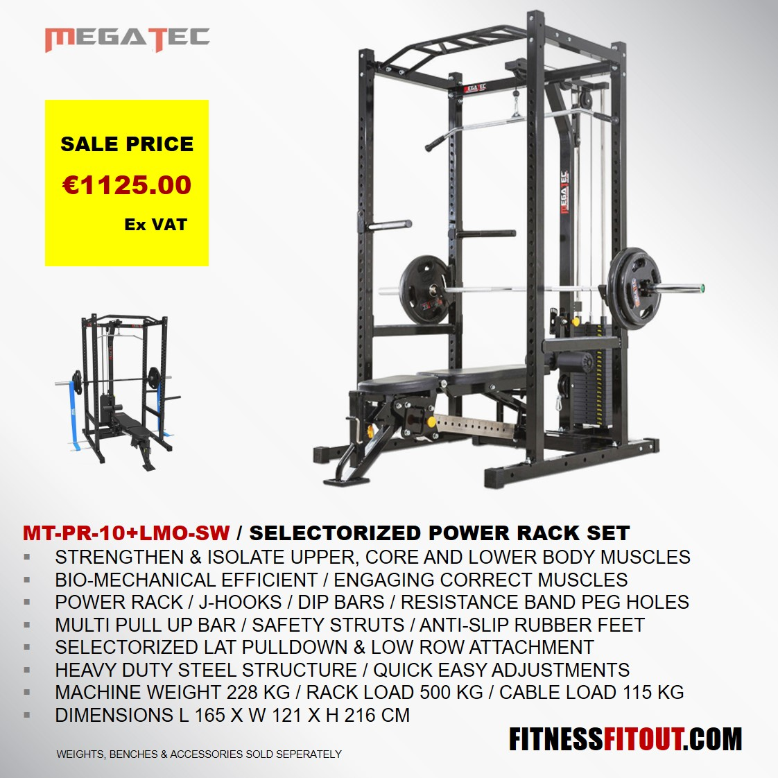 MEGATEC  POWER RACK SET