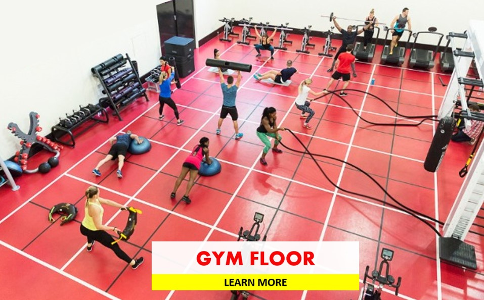 FITNESS & GYM FLOOR FITOUT