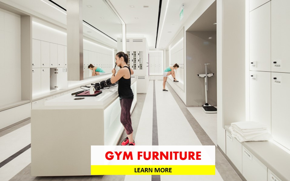 FITNESS & GYM FURNITURE FITOUT