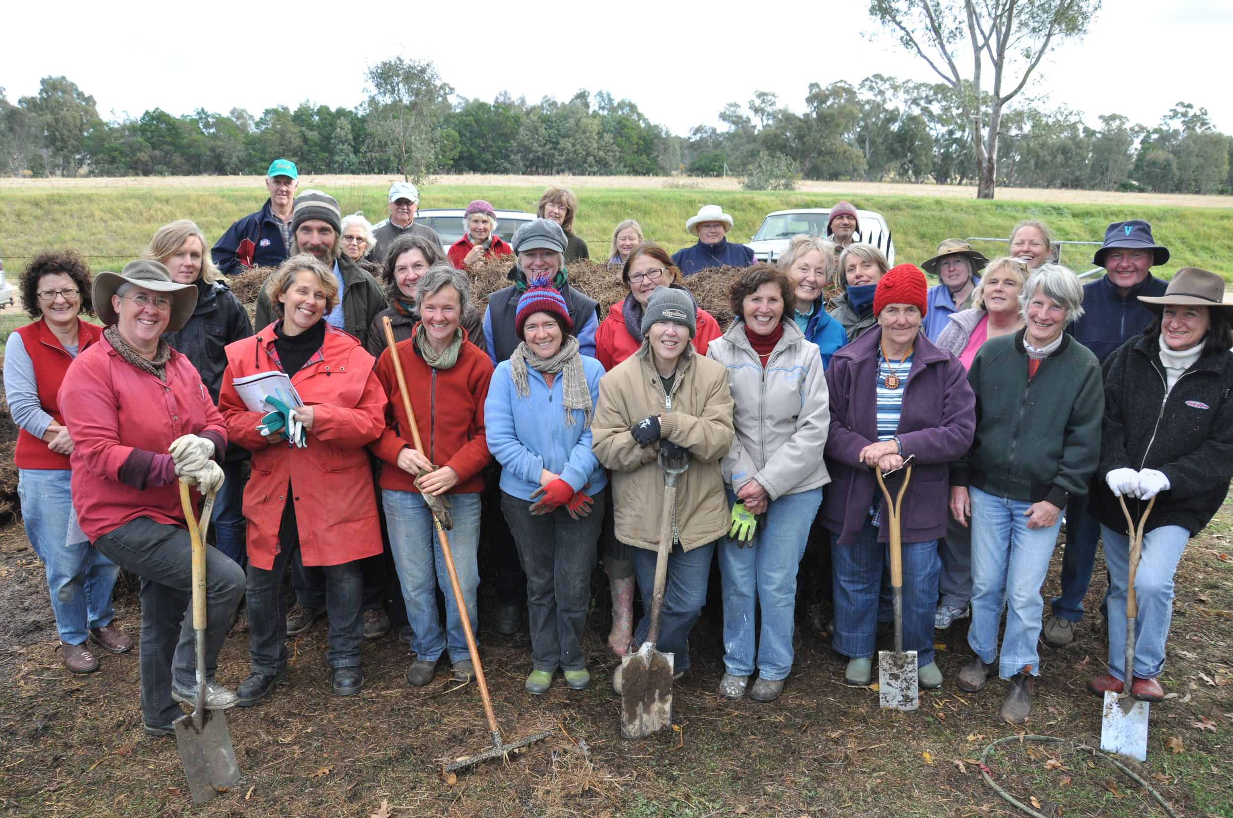 Members of the Newstead Community Garden group  https://newsteadgarden.wordpress.com
