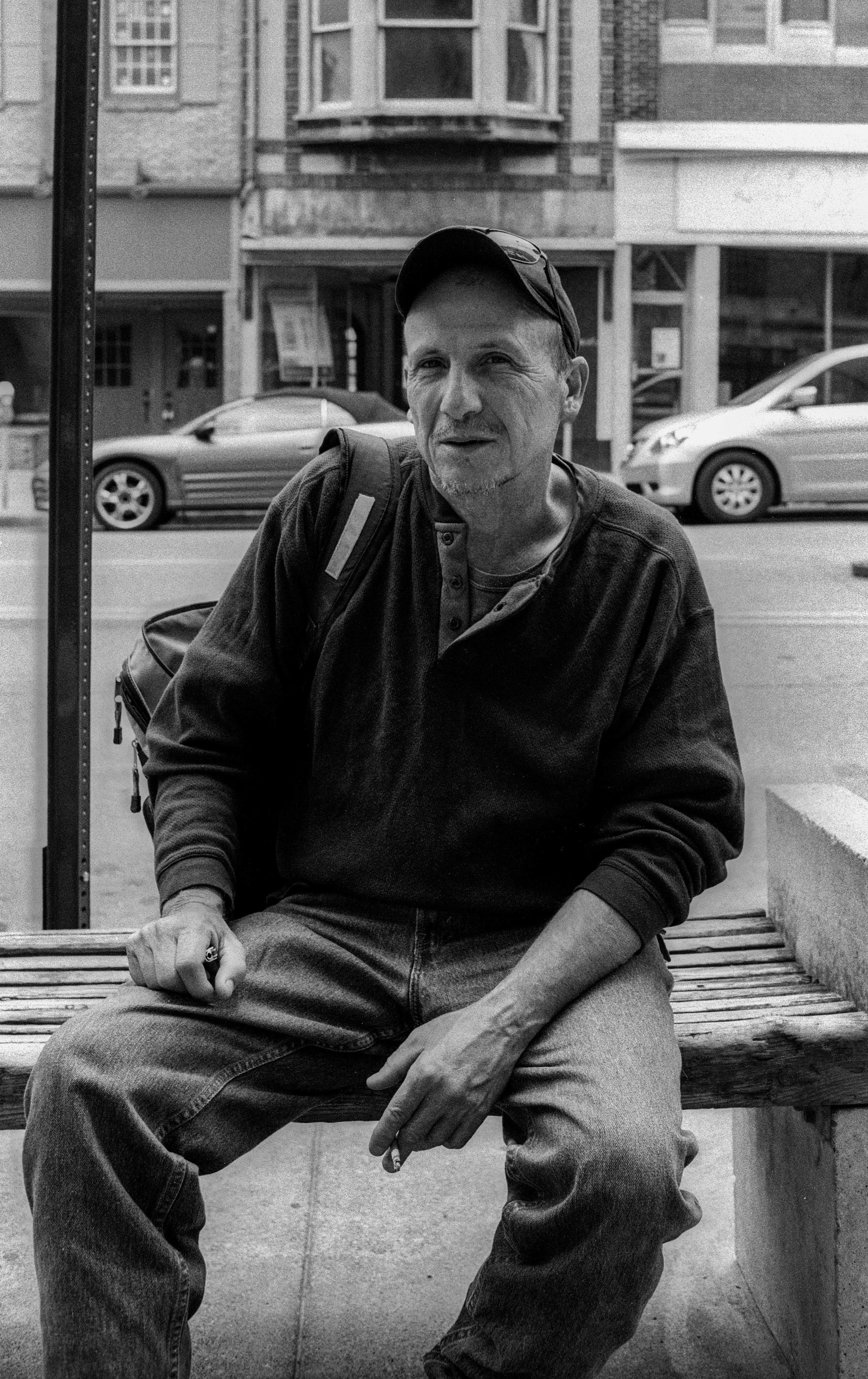 Cigarette Break, Allentown - 2014