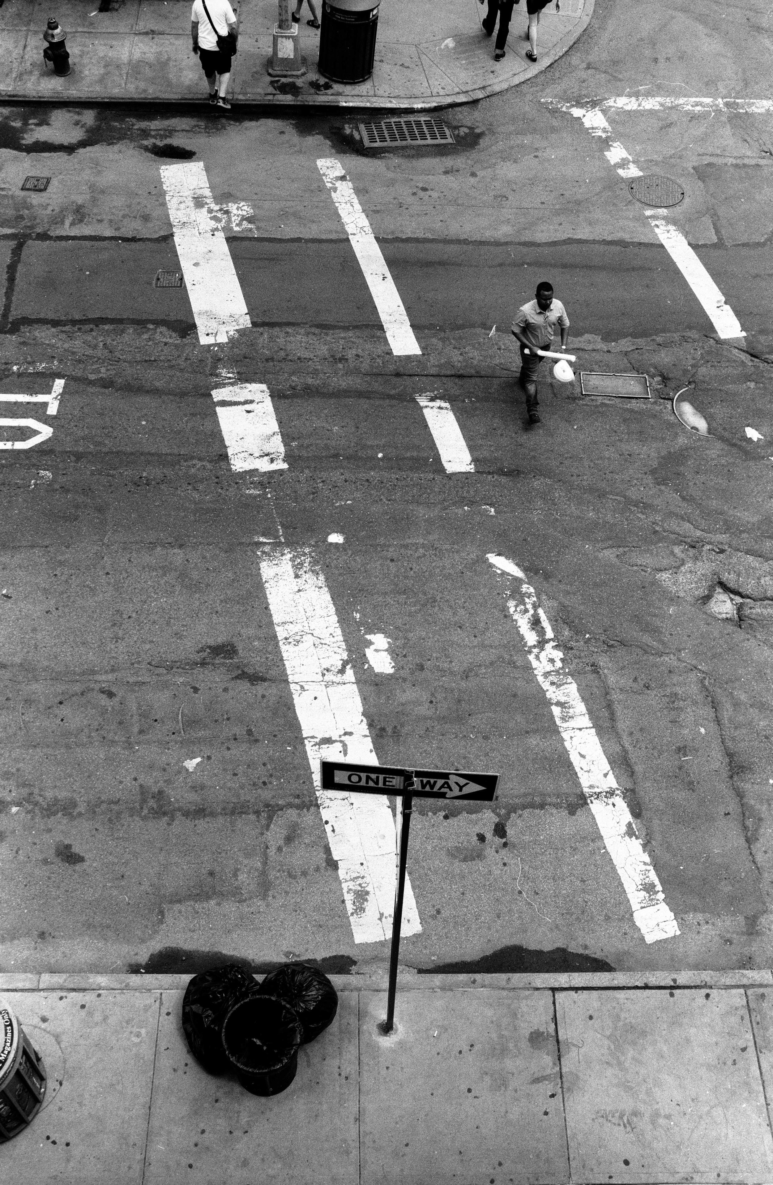 Street Scene From Above - 2015