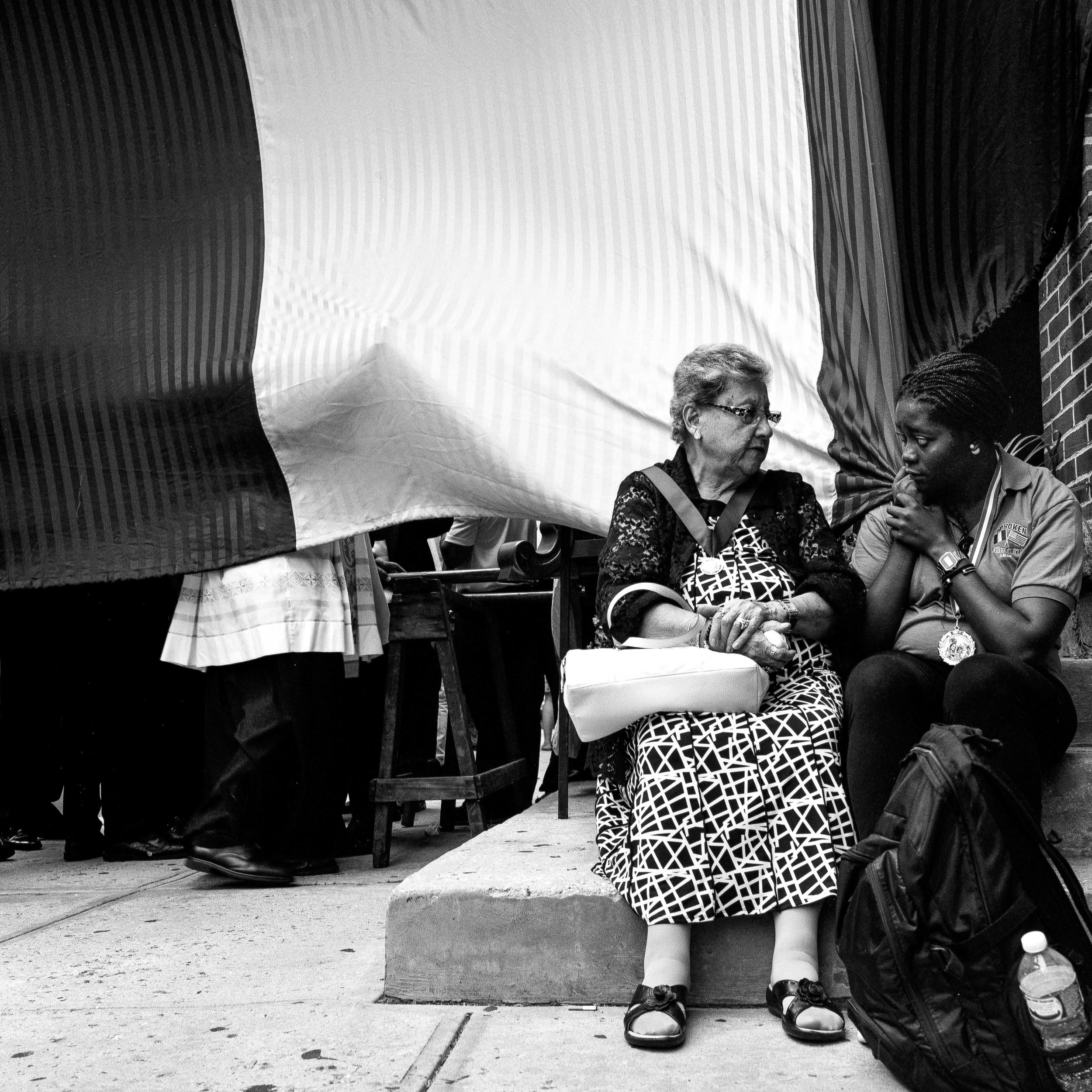 Side Conversation, Hoboken - 2015