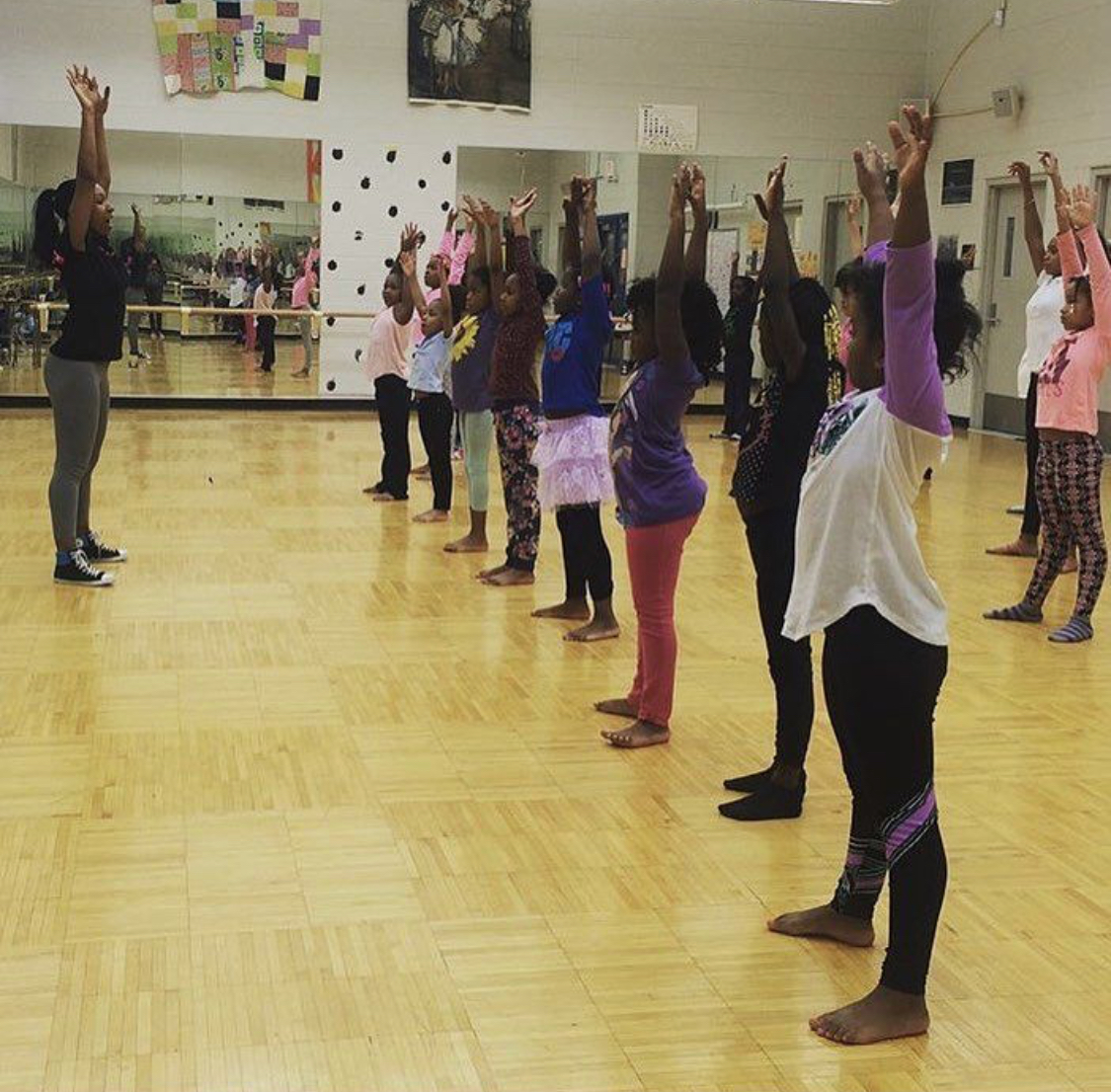 """SDDC Outreach - Studio Detroit seeks to create a challenging learning environment beyond its walls for students that encourage high expectations for success through the Arts with appropriate instruction that allows for individual differences and learning styles. As such, SDDC's outreach program provides on-site dance instruction to additional youth participants found at the metro-Detroit educational and recreational institutions who have established an outreach partnership with the studio. We provide a safe, orderly, caring, and supportive environment where each student's self-esteem is fostered by positive social, emotional, physical and intellectual development.If you're organization is interested in joining our outreach program, simply send us an email through the """"Contact Us"""" page including your name, the name of your organization, phone number, anticipated program start and end dates, and any additional details, and an SDDC team member will follow up with you."""