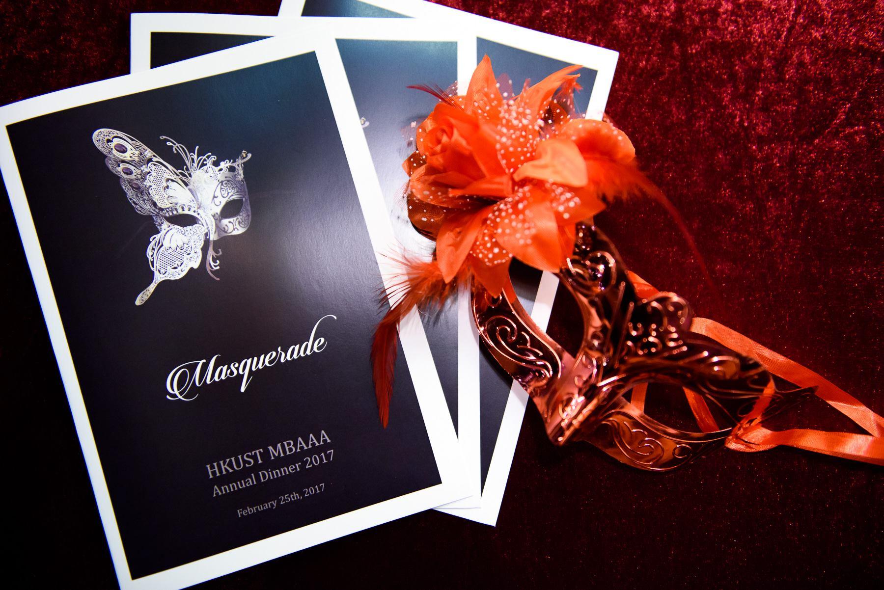 Tailored Theme -HKUST MBAAA Masquerade Ball 2017