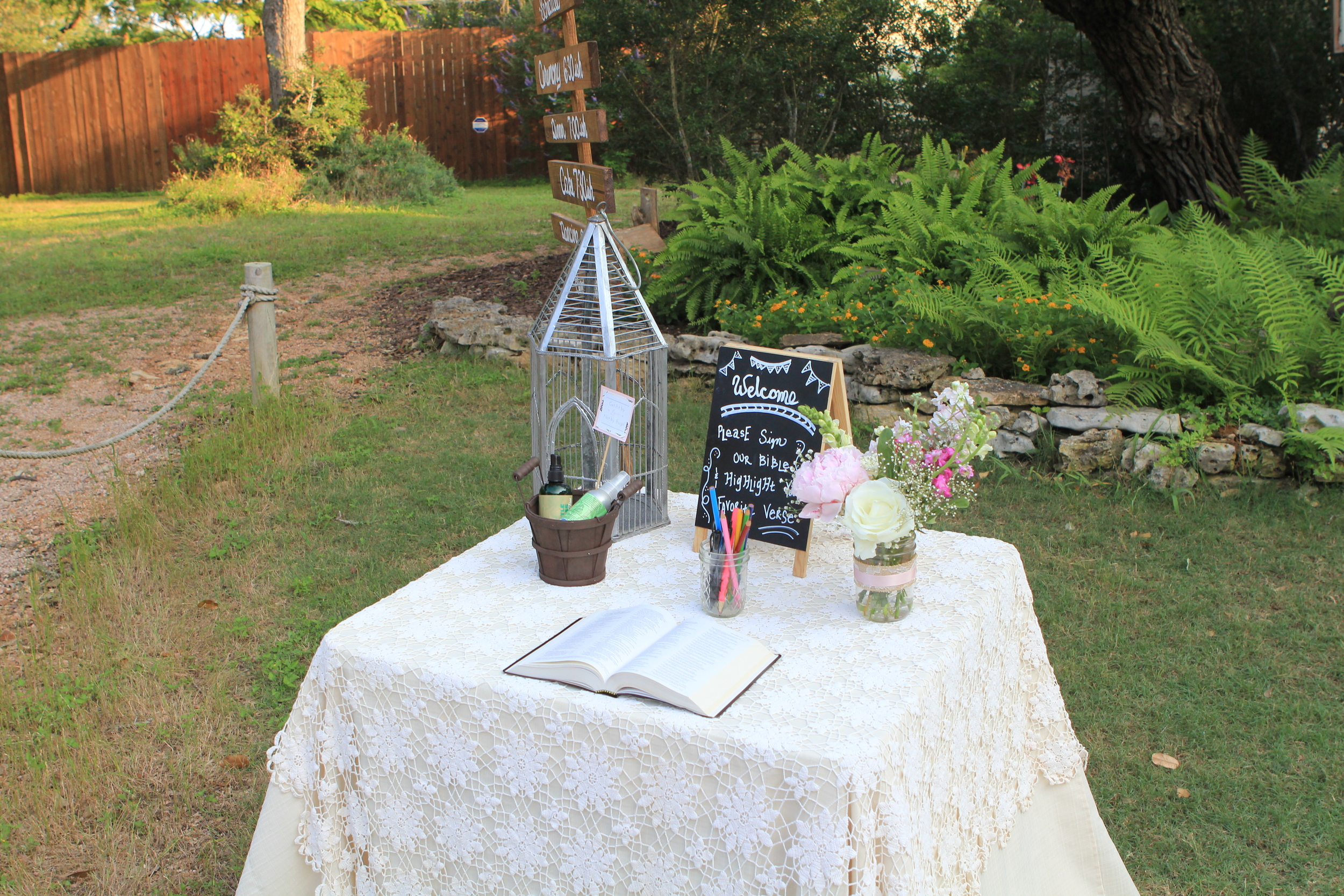 Events by bev Partial Planning