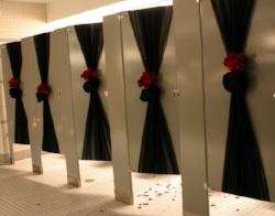 Bathroom Decor + Tulle + Flowers.jpg
