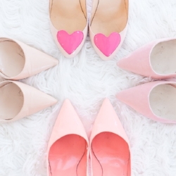 Shoes+ Pink+ Stock Photo